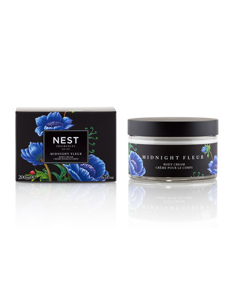 Nest Fragrances Midnight Fleur Body Cream, 6.7 oz.