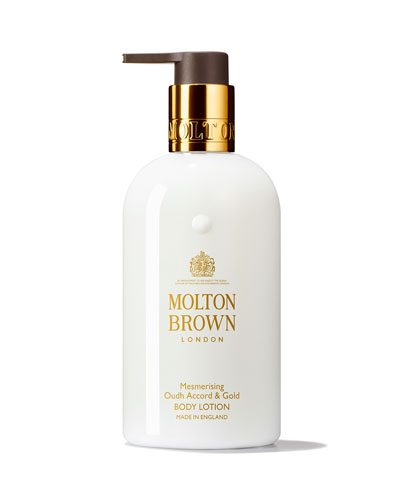 Mesmerizing Oudh Accord & Gold Body Lotion, 10 oz./ 300 mL