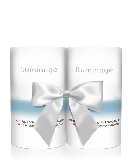 Iluminage Beauty Standard Size Pillow Case Duo