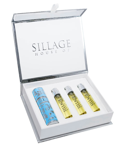 Hauts Bijoux Travel Spray with Refills, 0.3 oz./ 8.0 mL