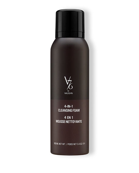 V76 by Vaughn 4-in-1 Cleansing Foam, 100 mL