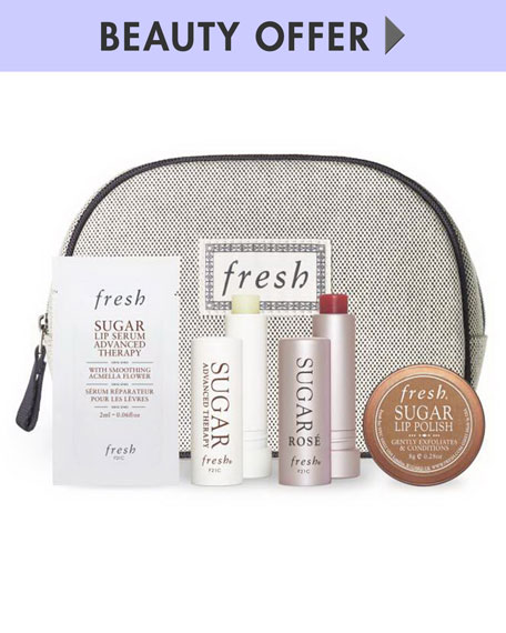 Receive a free 4-piece bonus gift with your $125 Fresh purchase