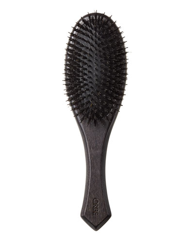 Flat Hairbrush - Mixed Bristle