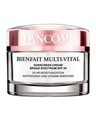Bienfait Multi-Vital SPF 20 Day Cream 23-Hour Antioxidant and Vitamin Enriched Broad Spectrum SPF 30 Sunscreen & Moisturizer, 1.7 oz./ 50 mL