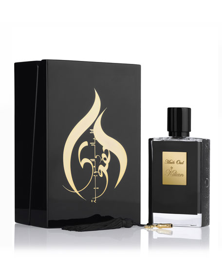 Kilian Musk Oud Refillable Spray and its Coffret,