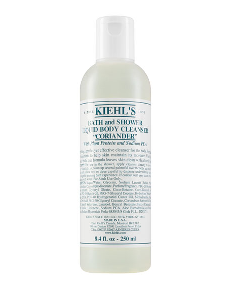 Coriander Bath & Shower Liquid Body Cleanser, 8.4 oz.