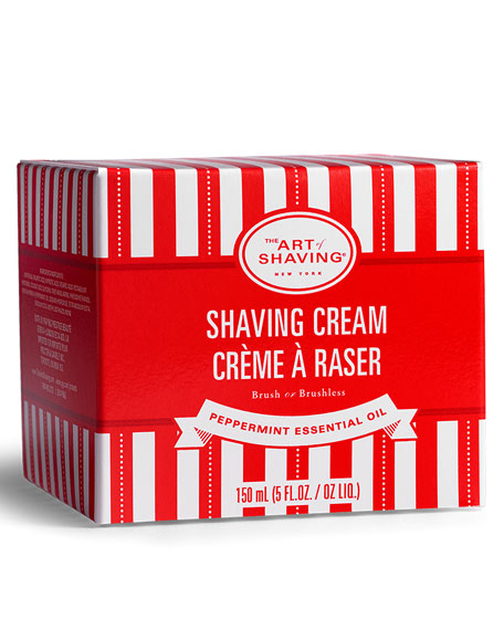 Peppermint Shaving Cream, 5 oz.