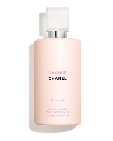 <b>CHANCE EAU VIVE</b><br>FOAMING SHOWER GEL