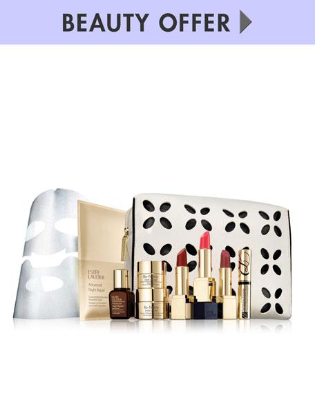 Receive a free 7-piece bonus gift with your $75 Estée Lauder purchase