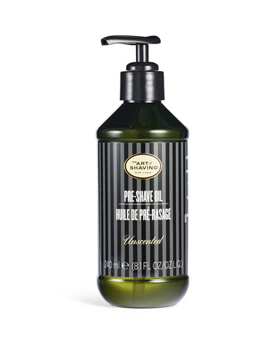 Large Pre-Shave Oil, Unscented, 8 oz.