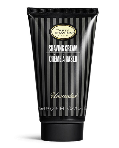 Shaving Cream Tube, Unscented, 2.5 oz.
