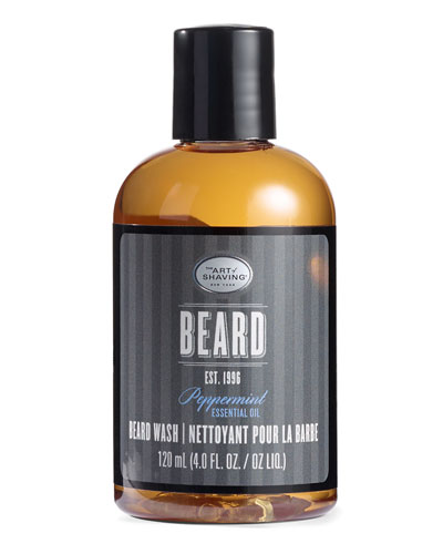 Peppermint Beard Wash, 4 oz./ 118 mL
