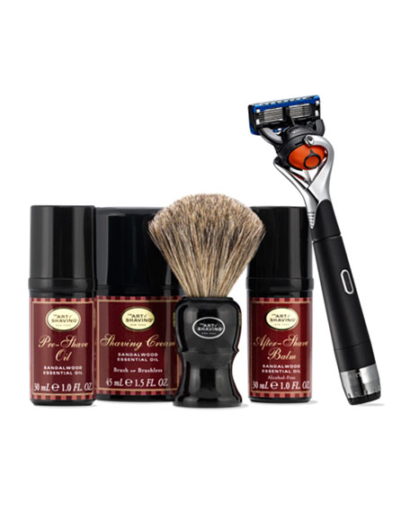 Lexington Collection™ Power Shave with Brush
