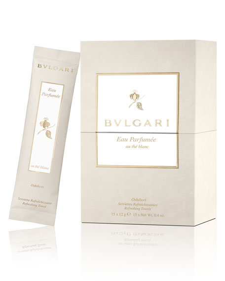 BVLGARI Eau Parfum??e Au Th?? Blanc Refreshing Towels