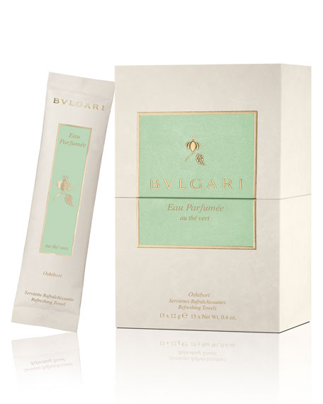 BVLGARI Eau Parfum??e Au Th?? Vert Refreshing Towels
