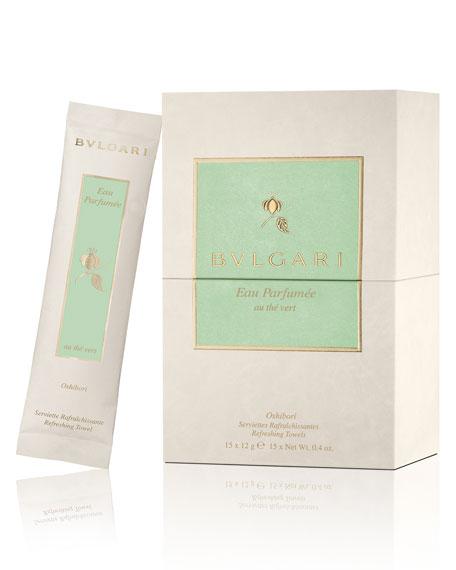 BVLGARI Eau Parfum&#233e Au Th&#233 Vert Refreshing Towels