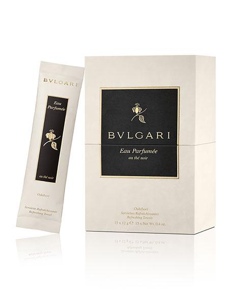 BVLGARI Eau Parfum&#233e Au Th&#233 Noir Refreshing Towels