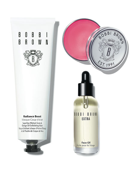 The Bobbi Glow Skincare Trio