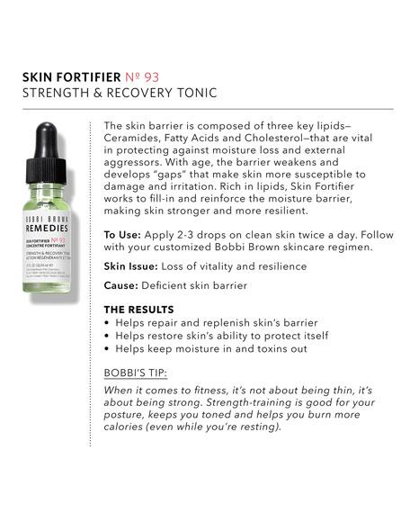 Skin Fortifier No. 93 - Strength & Recovery Tonic