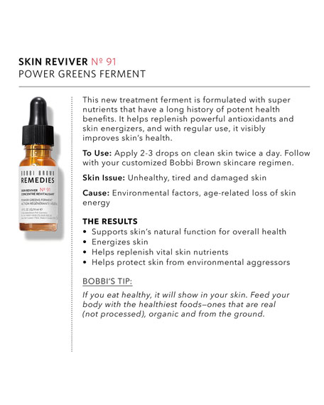 Skin Reviver No. 91 – Power Greens Ferment, .47 oz./ 14 mL
