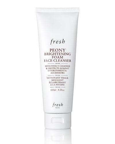 Peony Brightening Foam Face Cleanser