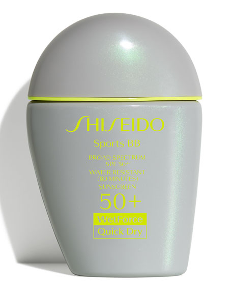 Shiseido Sports BB Broad Spectrum SPF 50+ WetForce,