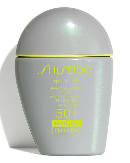 Shiseido Sports BB Broad Spectrum SPF 50+ WetForce,