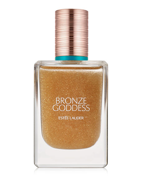 Bronze Goddess Shimmering Oil Spray for Hair and Body, 1.7 oz.