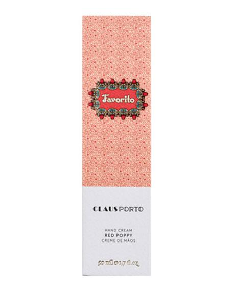 Favorito - Red Poppy Hand Cream, 50 mL