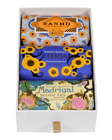 Claus Porto Banho, Ilyria & Madrigal Gift Box