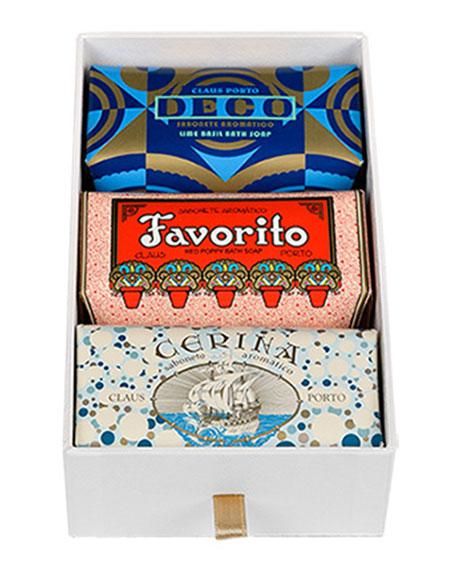 Claus Porto Deco, Favorito & Cerina Gift Box