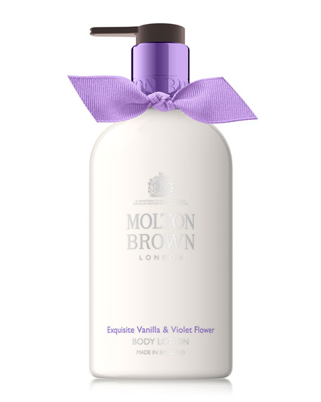 Vanilla & Violet Flower Body Lotion, 10 oz./ 300 mL