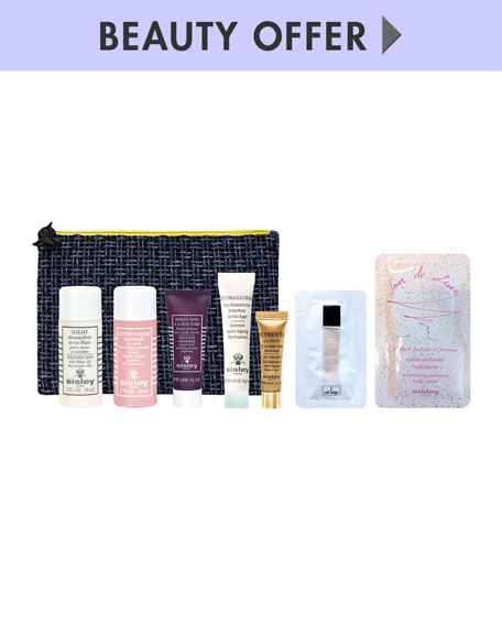 Receive a free 7-piece bonus gift with your $350 Sisley Paris purchase