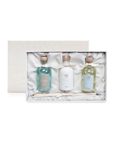 Home Ambiance Diffuser Trio, 100 mL each