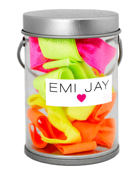 Emi Jay Electric Hair Ties in Paint Tin