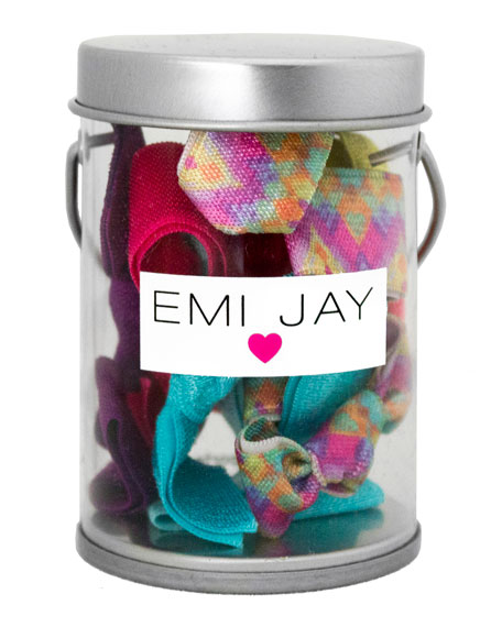 Emi Jay Austique Hair Ties in Paint Tin