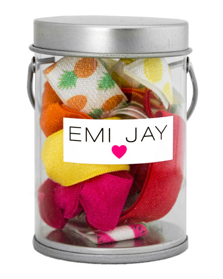 Emi Jay Fruit Punch Hair Ties in Paint