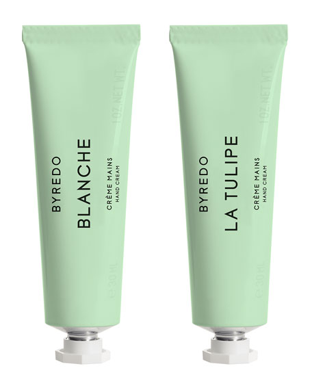 Hand Cream Duo – Blanche & La Tulipe, 2 x 30 mL