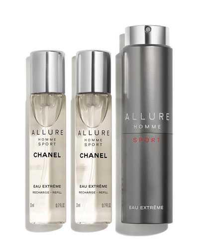 <b>ALLURE HOMME SPORT EAU EXTR&#202ME </b><br>Refillable Travel Spray