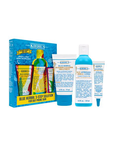 Blue Herbal Acne Elimination System