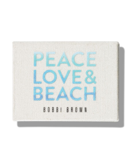 Limited Edition Peace, Love & Beach Eye Shadow Trio