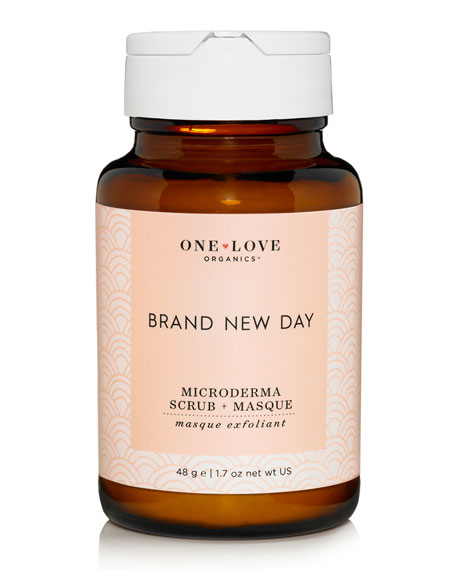 One Love Organics Brand New Day Microderma Scrub