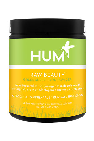 Hum Nutrition Limited Edition Raw Beauty Coconut Pineapple Tropical Infusion