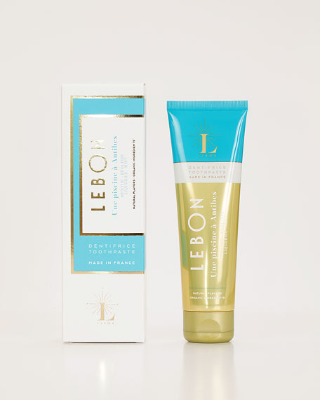 Lebon Licorice Mint Toothpaste, 2.5 oz./74 ml