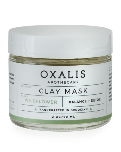 Wildflower Clay Mask, 2.0 oz.
