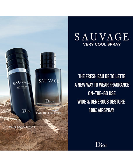 Sauvage Cool Spray Eau de Toilette, 3.4 oz./ 100 mL
