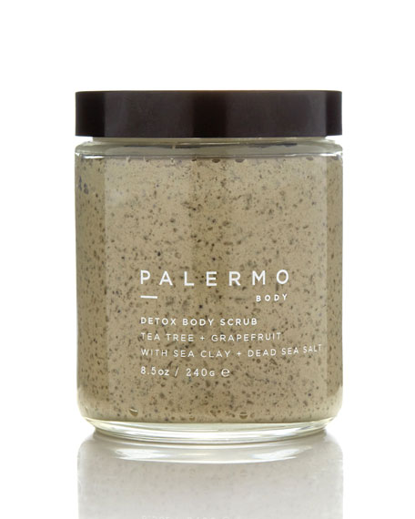 Palermo Body DETOX BODY SCRUB – TEA TREE