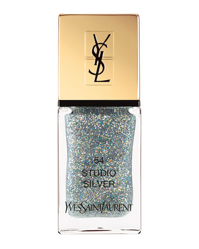 Limited Edition Night 54 La Laque Couture Nail Lacquer, 54 Studio Silver