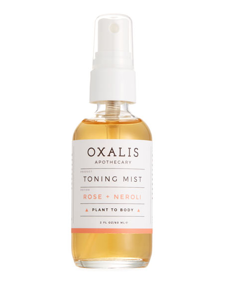 Toning Mist: Rose + Neroli, 2.0 oz.