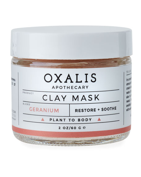 Geranium Clay Mask, 2.0 oz.